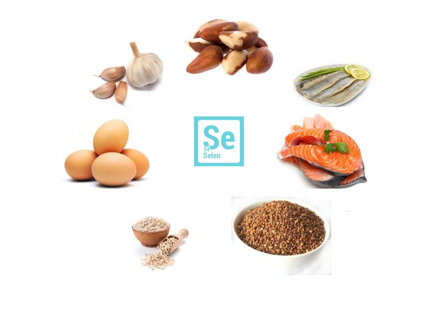 produkty żywieniowe bogate w selen