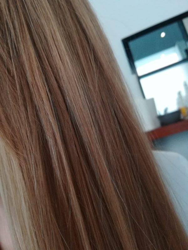 Włosy po zabiegu infuzji tlenowej