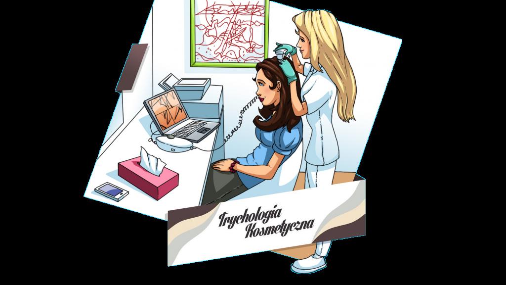 Trychologia kosmetyczna - baner