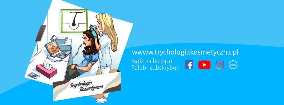 Baner trychologia kosmetyczna